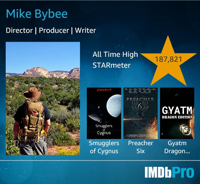 Mike Bybee IMDbProCard